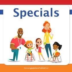spelkaarten specials
