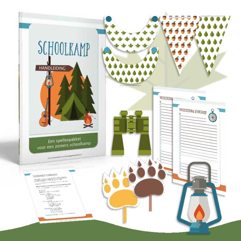 compleet pakket Schoolkamp ideeën voor de onderbouw