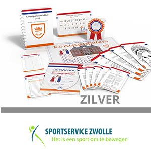 SportService Zwolle zilver