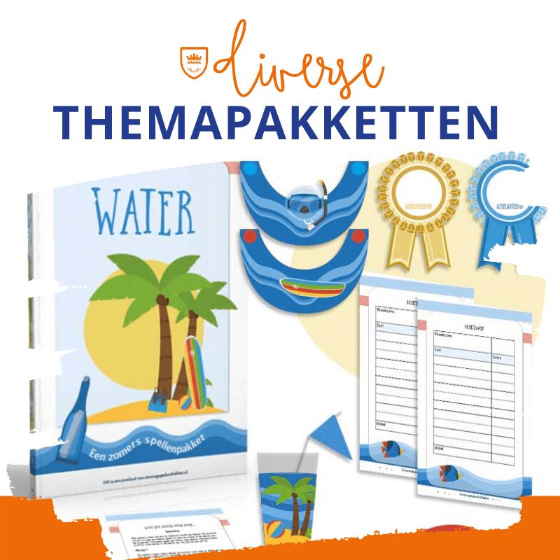 Themapakket water